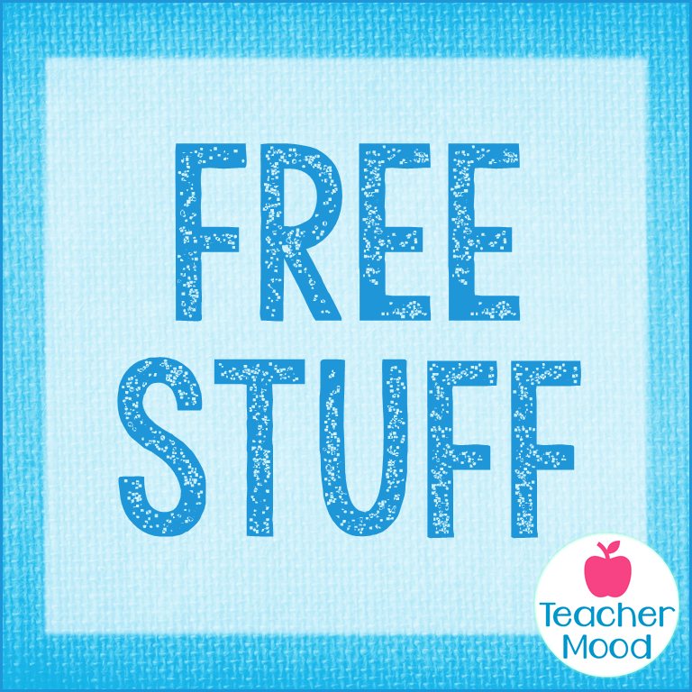 a page to find free resources for teachers