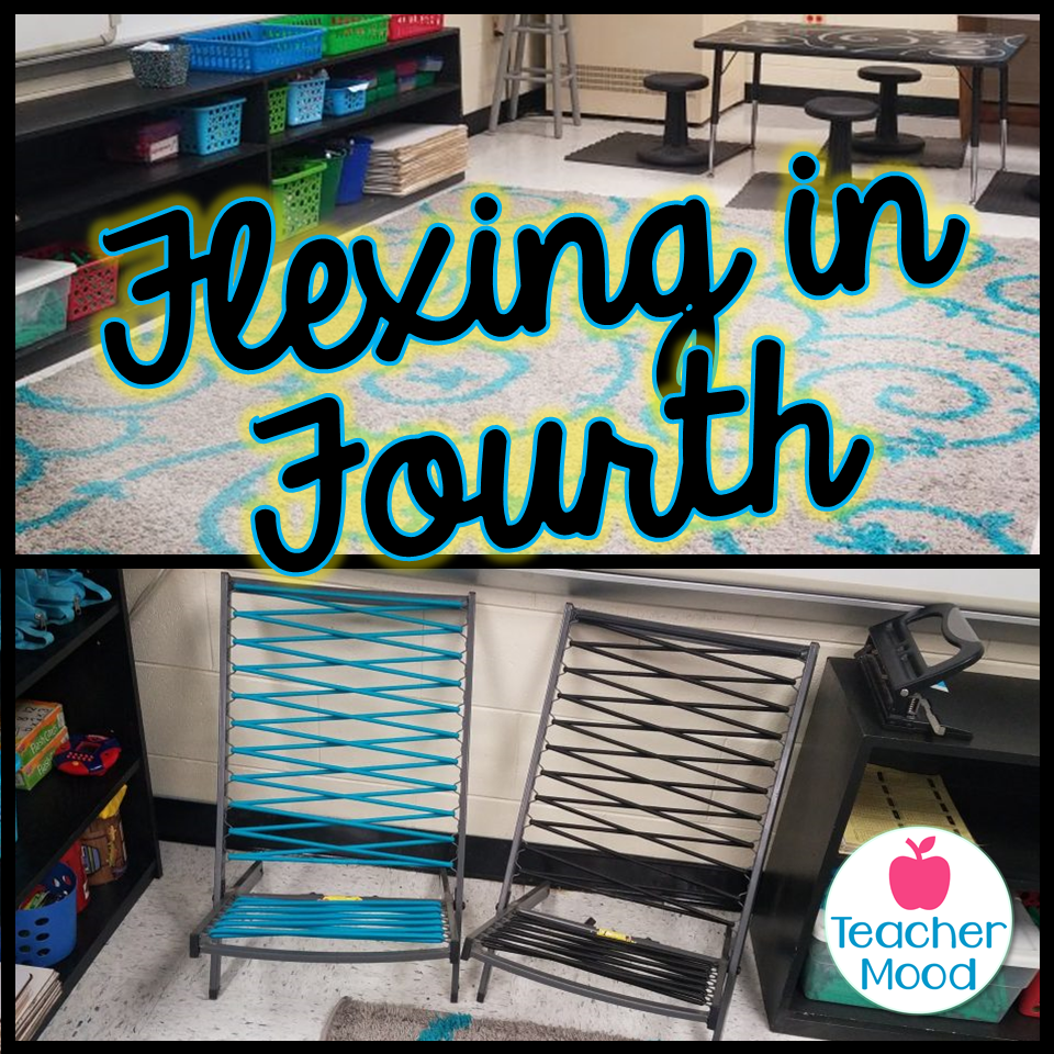 flexible seating in a 4th grade classroom