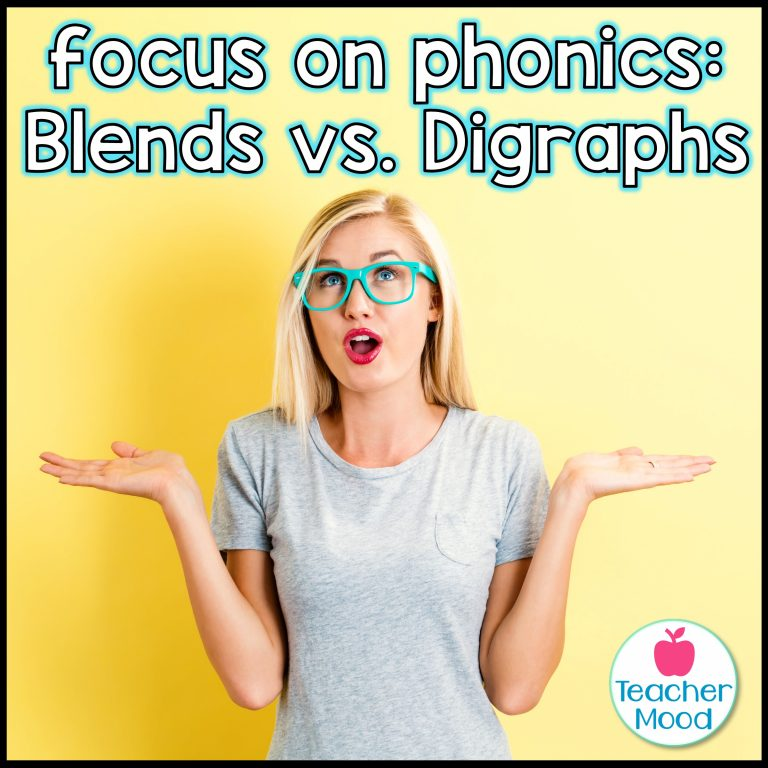 Strategies for teaching blends and digraphs