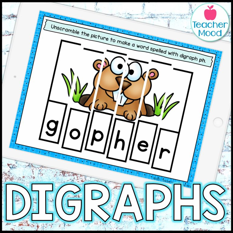 Teaching Consonant Digraphs