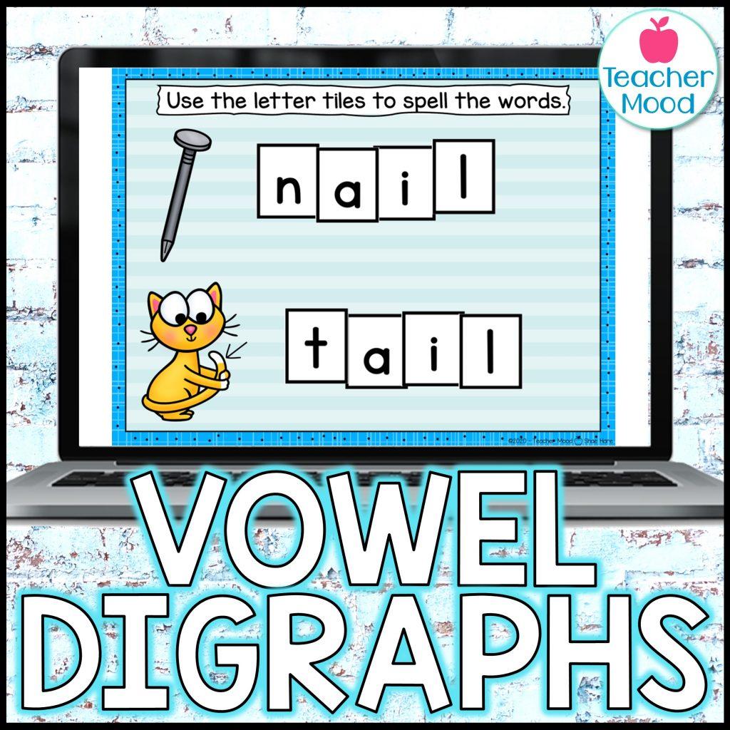 Teaching Phonics vowel teams and vowel digraphs