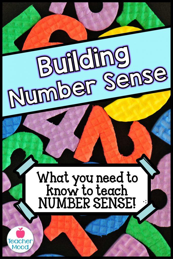 activities to develop number sense