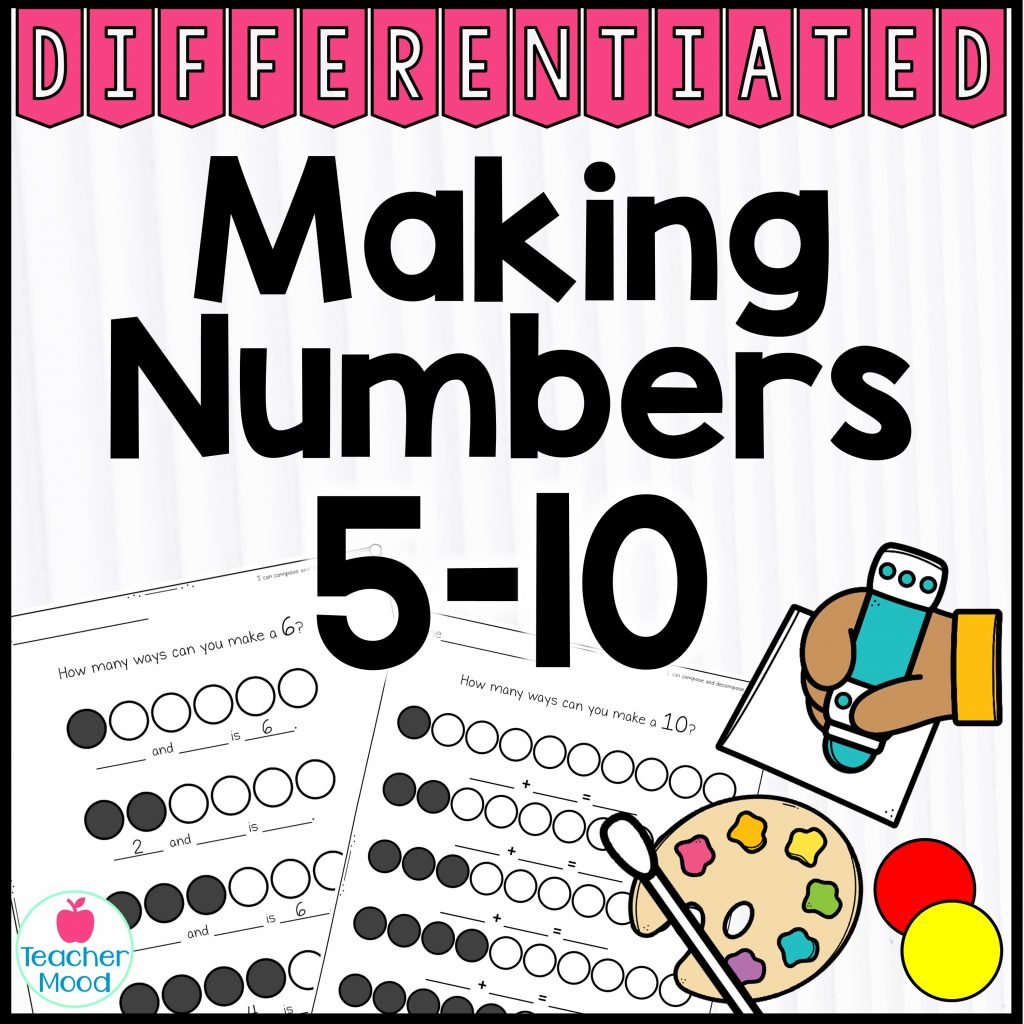 composing and decomposing number activities