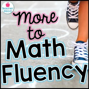 Ideas for teaching math fluency and number sense