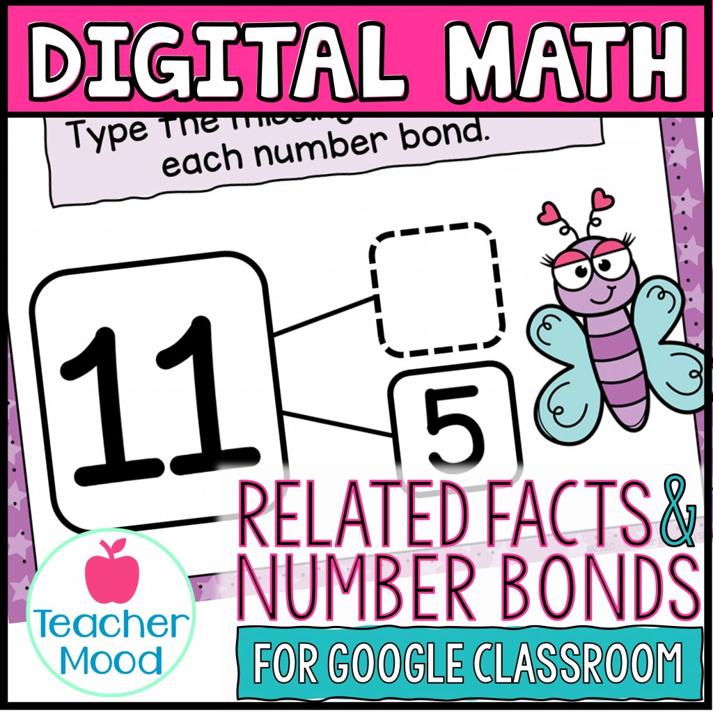 number bonds and related facts digital math practice