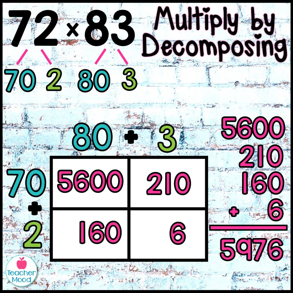 multiplying with number bonds