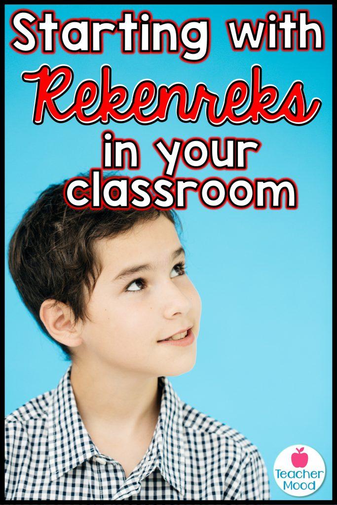 rekenrek activities for kindergarten and first grade