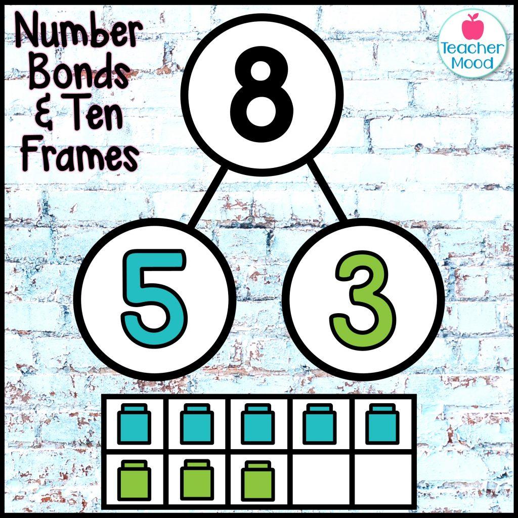 number bonds and ten frames