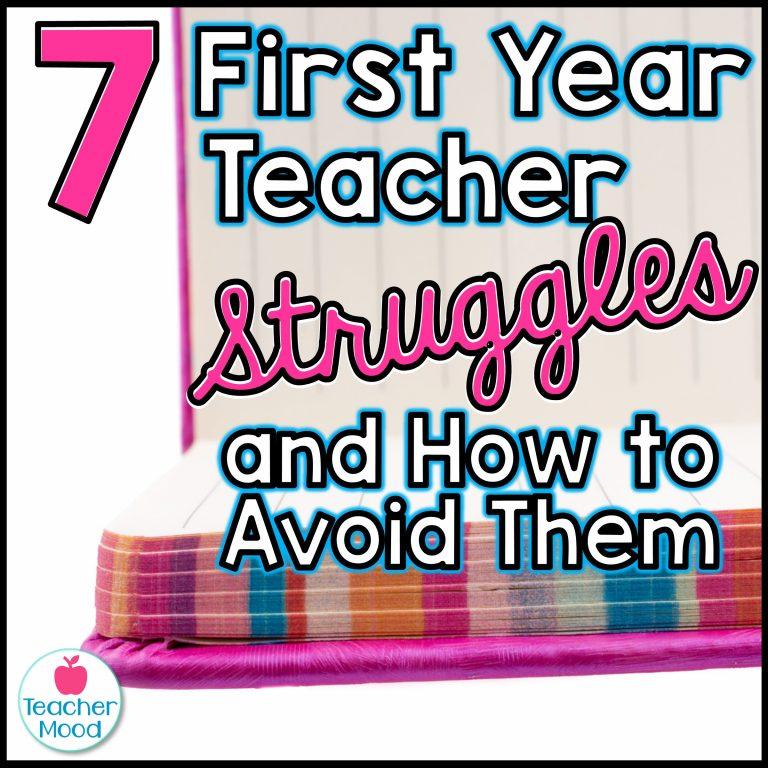 first year teacher mistakes