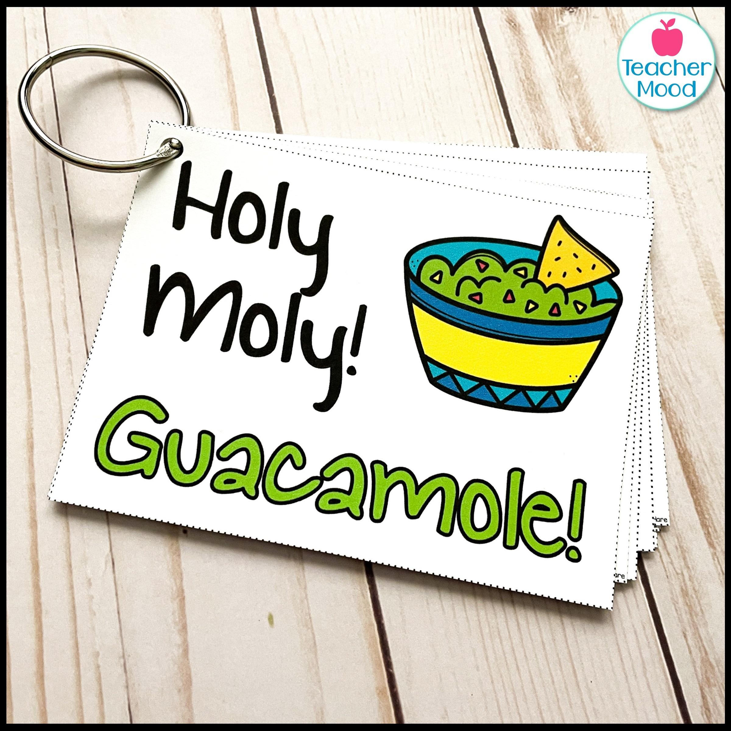 classroom call back holy moly guacamole