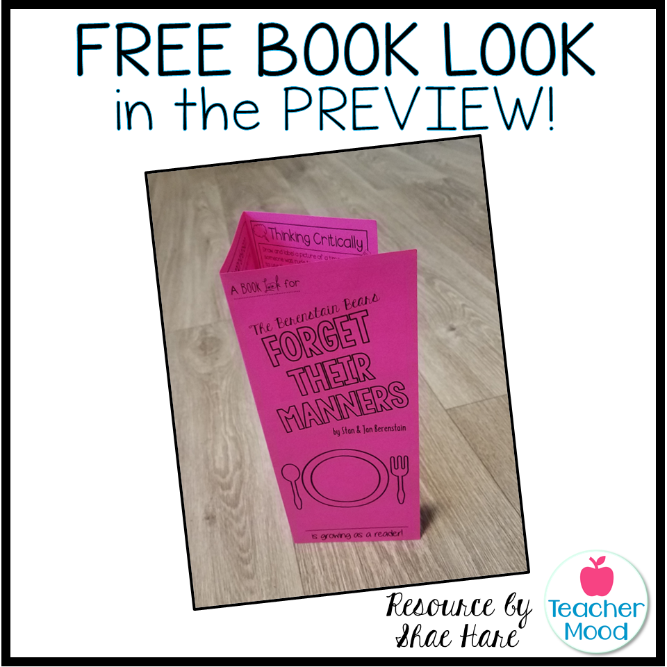 free book look reading activity